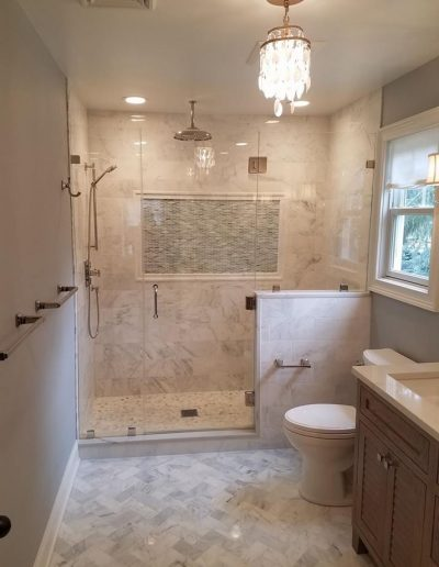 LS Contractors - Finished Bathroom