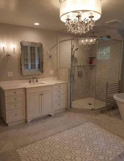 LS Contractors - Completed Bathroom